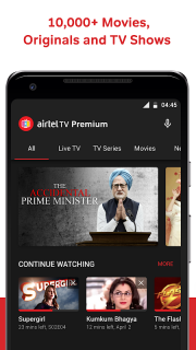 Airtel TV: Live TV, News, Movies, TV Shows 1 17 5 Download APK for