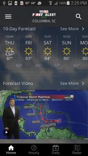 WIS News 10 FirstAlert Weather screenshot 2