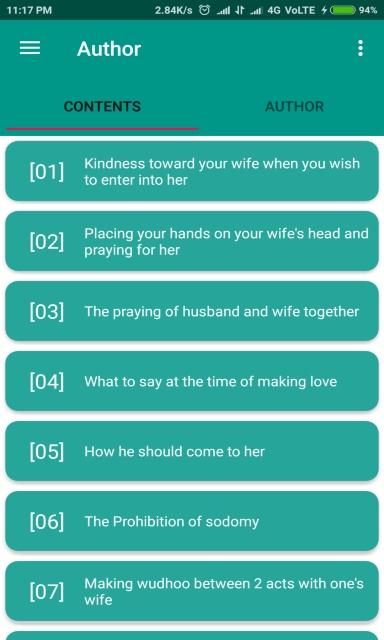 Islamic Marriage Guide screenshot 2