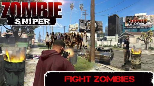 Zombie Sniper - Last Man Stand screenshot 2