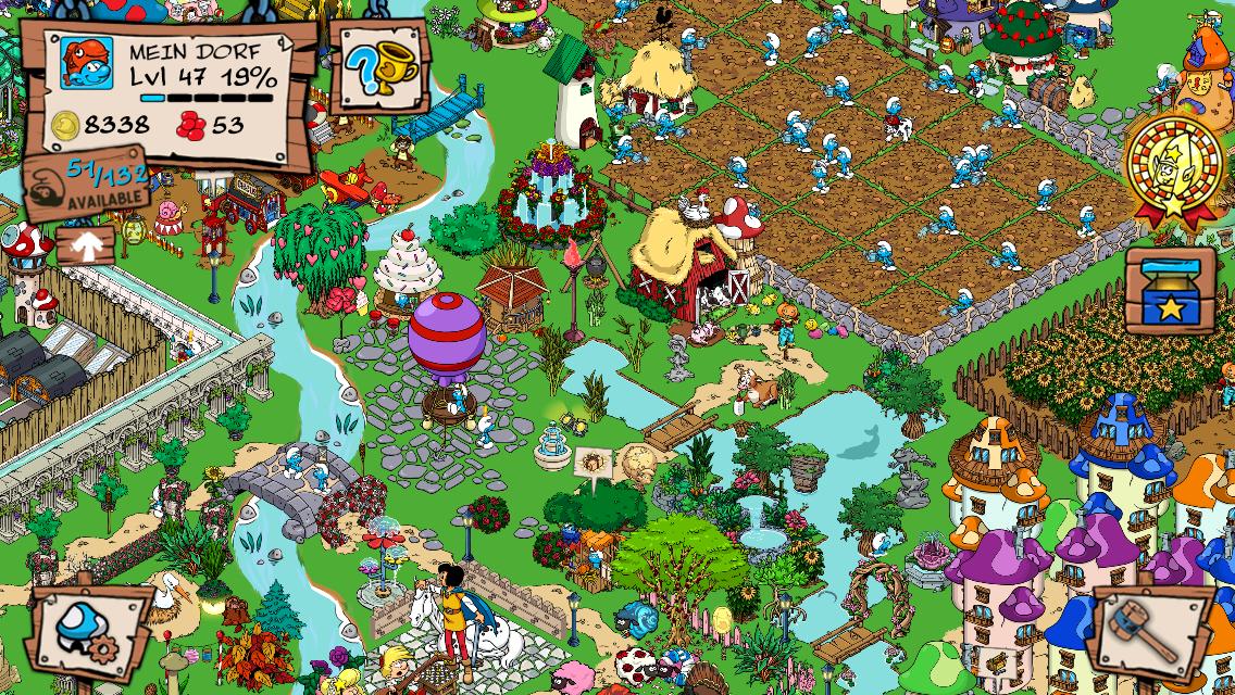 Smurfs' Village screenshot 1