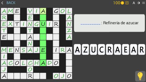 Crosswords - Spanish version (Crucigramas) screenshot 12