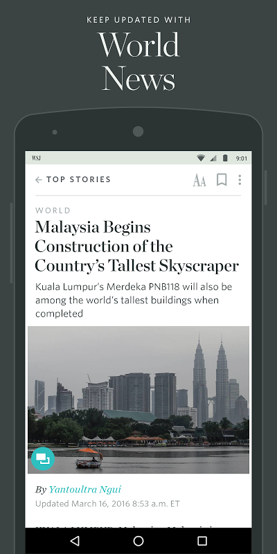 The Wall Street Journal: Business & Market News screenshot 2