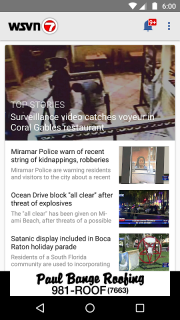 WSVN - 7 News Miami screenshot 1
