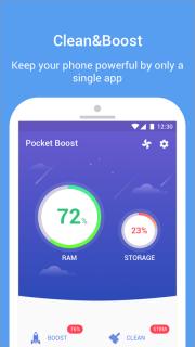 Pocket Boost screenshot 1