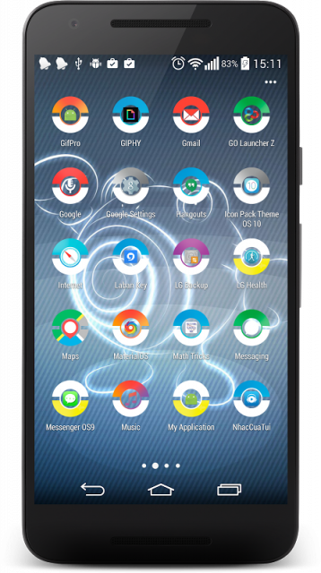 Pokeball icon pack android tv
