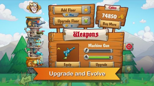 Tower Crush - Defense & Attack screenshot 1