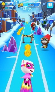 Talking Tom Hero Dash screenshot 14