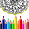 beauty coloring book Icon