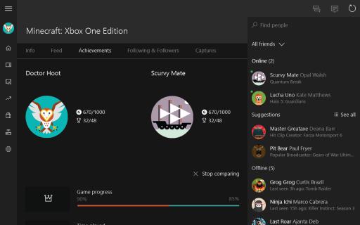 Xbox beta screenshot 3