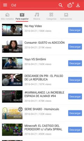 descargar videos de youtube downloader gratis en español