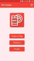 NFC Reader Screen