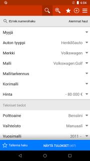 Nettiauto screenshot 1
