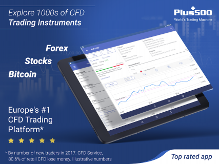 Plus500: CFD Online Trading on Forex and Stocks screenshot 9