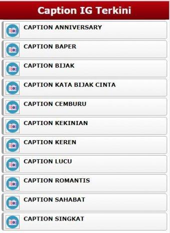 تحميل Apk لأندرويد آبتويد Caption Ig Keren Kekinian10
