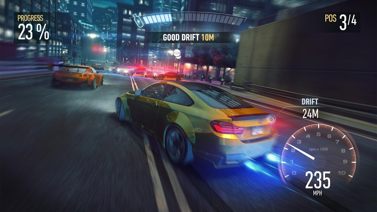 Need for Speed: NL a Corridas screenshot 1