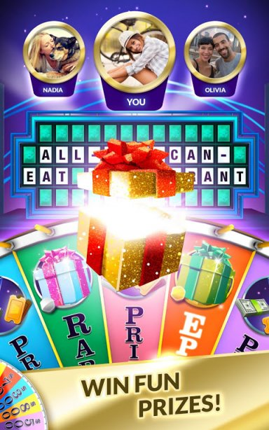 free wheel of fortune game app
