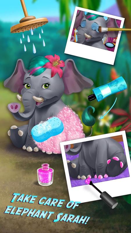 Jungle Animal Hair Salon screenshot 2