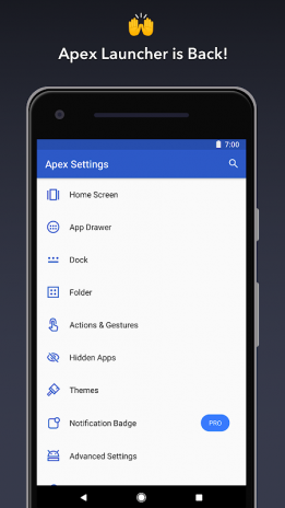 Apex Launcher 4 7 0 Download APK for Android - Aptoide