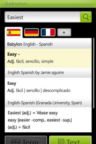 Babylon Translator Screenshot
