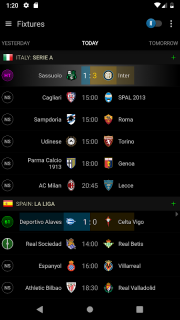 Live Football Scores - Soccer Center screenshot 1