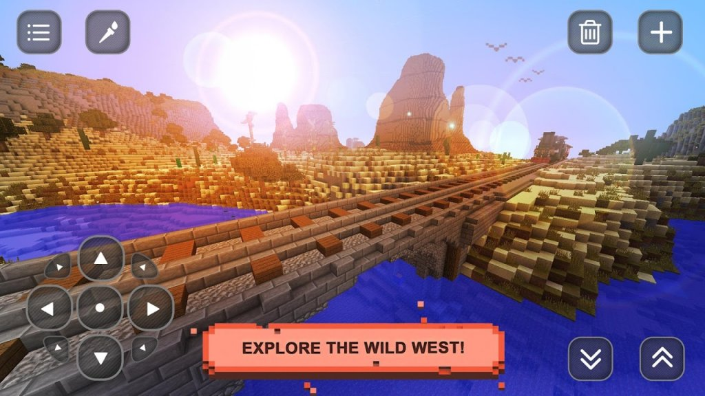 Wild west craft exploration download apk for android for Explore craft survival pe