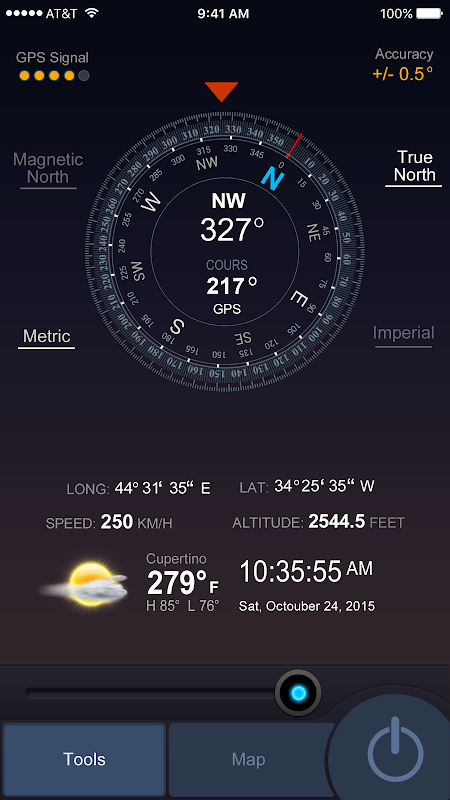 All GPS Tools Pro (Compass, Weather, Map Location) screenshot 2