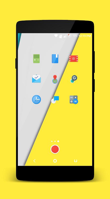 Platycon - Icon Pack(Beta) screenshot 1