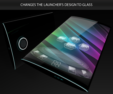 Glass theme & glass icon pack + amoled wallpapers screenshot 4