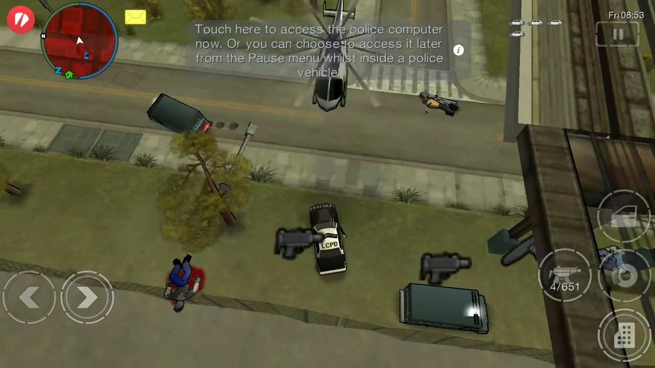 Cheats GTA Chinatown Wars : Grand Theft Auto screenshot 1