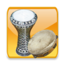 Darbuka and daire instruments