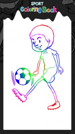 el deporte libro para colorear 1.4 Descargar APK para Android - Aptoide