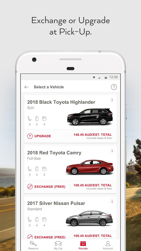 Avis Car Rental screenshot 2