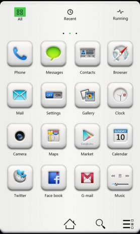 Pure GO Launcher Getjar Theme 1 03 Download APK for Android - Aptoide