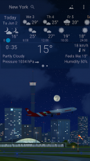 awesome weather yowindow live wallpaper widgets screenshot 6