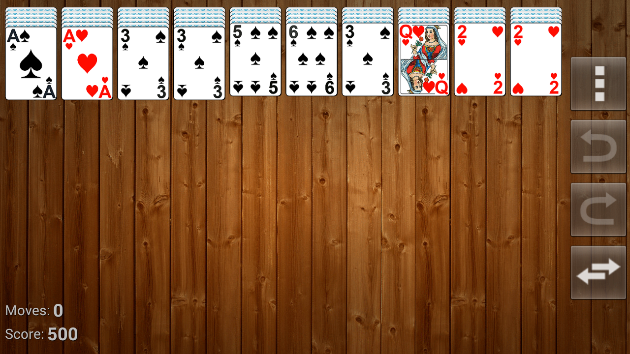 Solitaire-Spider-FreeСell screenshot 2