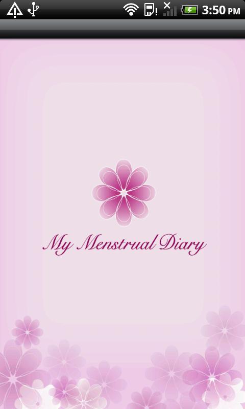 My Menstrual Diary screenshot 1