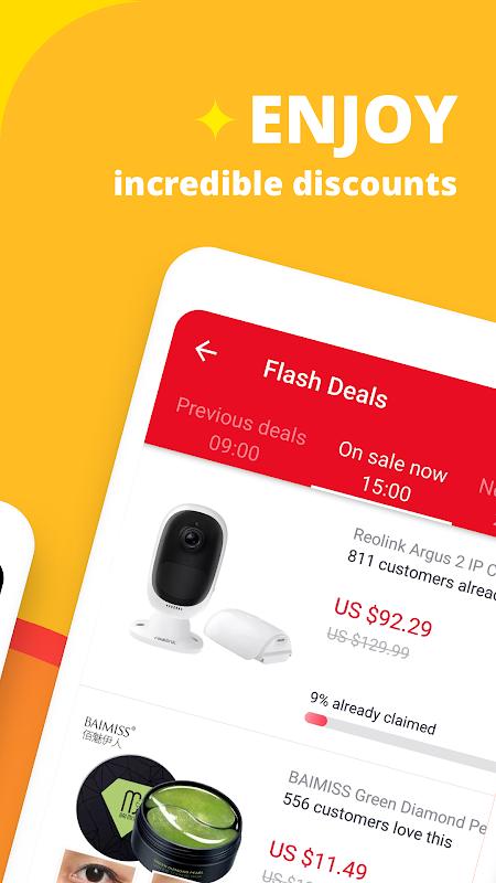AliExpress Shopping App- $100 Coupons For New User screenshot 12