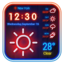 weather on home screen
