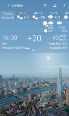 awesome weather yowindow live wallpaper widgets screenshot 1