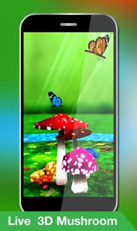 Mushroom Live Wallpaper 2018 3d Butterfly Free 10