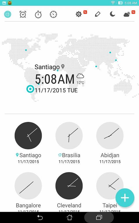 ASUS Digital Clock & Widget screenshot 2