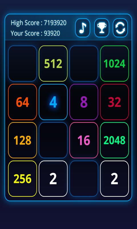 2048 Puzzle Amazing screenshot 2
