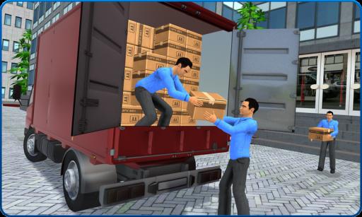 Bank Cash-in-transit Security Van Simulator 2018 screenshot 2