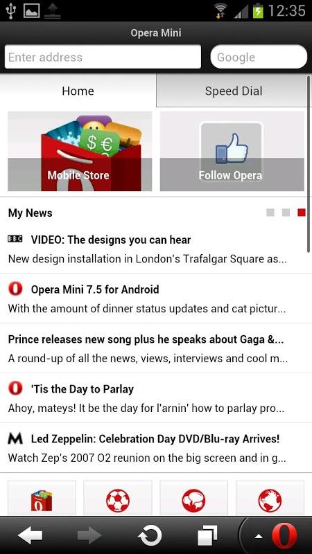 Opera Mini - navegador web 28 0 2254 119224 Download APK