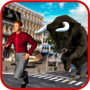 Angry Bull Attack: Bull Fight Shooting