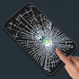 Broken Screen Prank Wallpaper Picture Sound Joke Icon