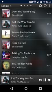 PowerAudio Pro Music Player screenshot 8