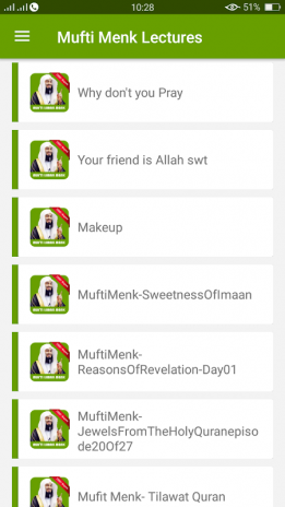 Mufti Ismail Menk Lectures Audio Offline 1 1 Download APK