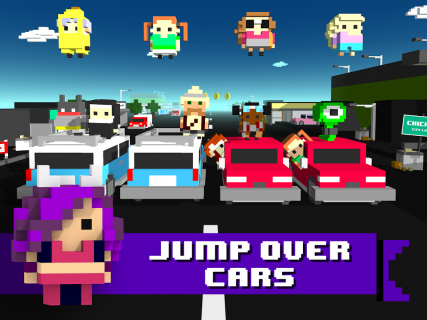 Chicken Jump - Crazy Traffic screenshot 15